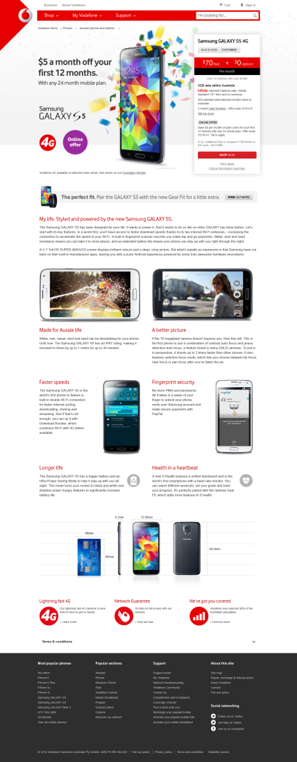 Vodafone_Australia_Samsung_GALAXY_S5 - Tim Tayyar, freelance copywriter
