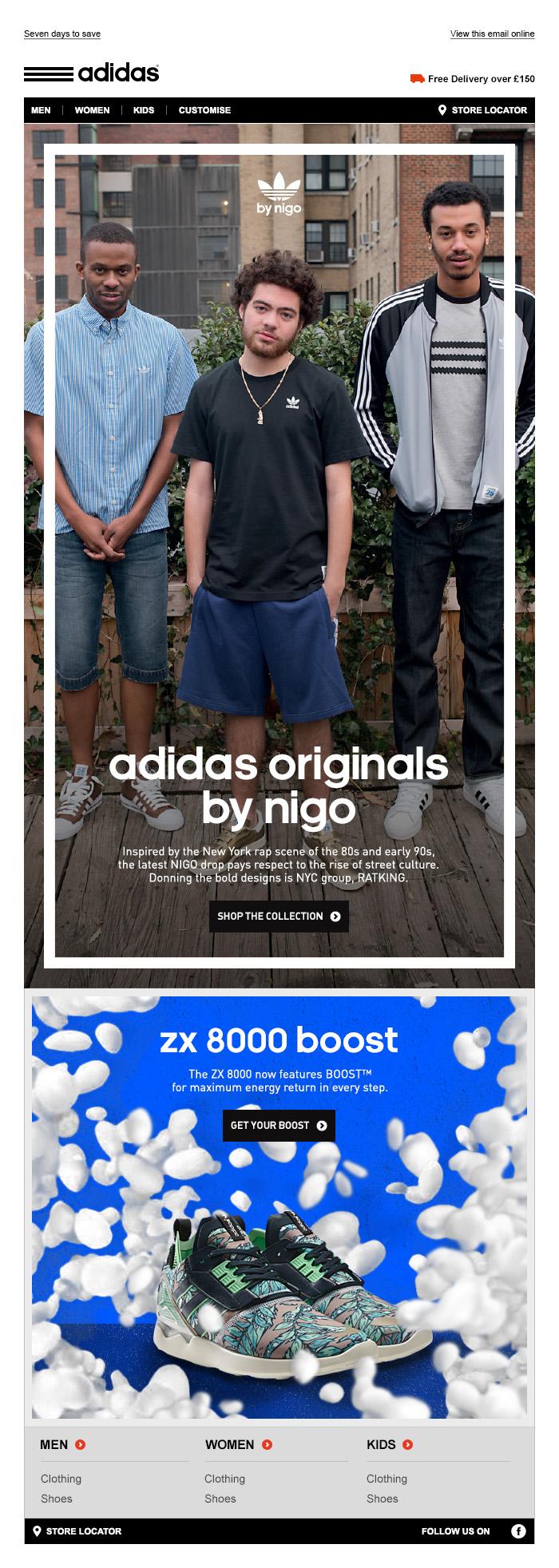 adidas Originals NIGO - Tim Tayyar, freelance copywriter
