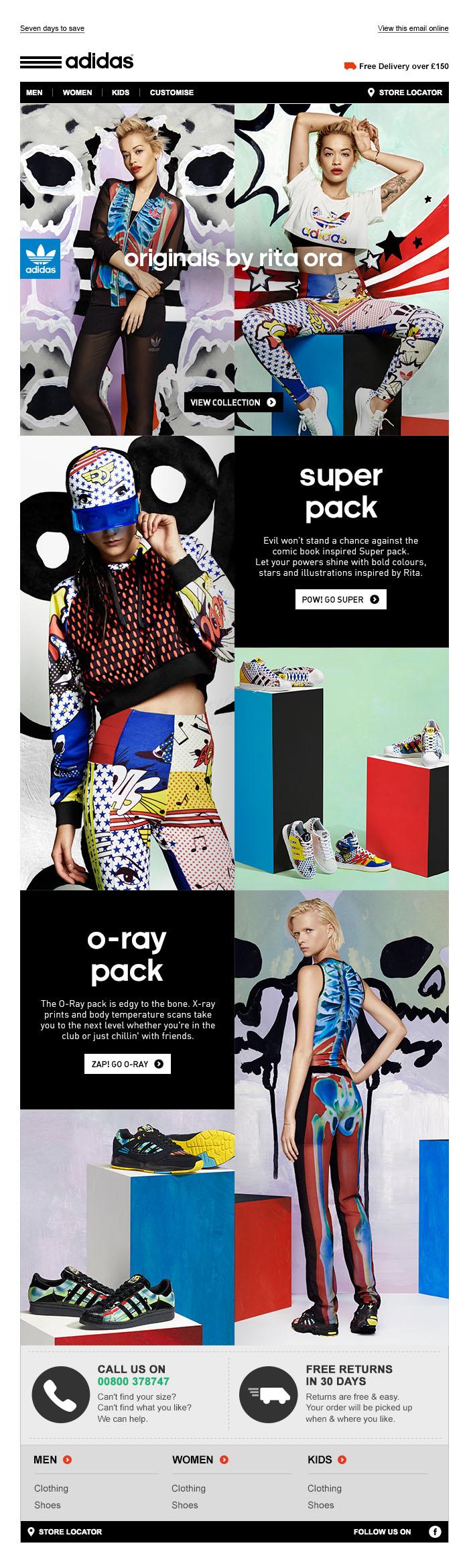 adidas Originals Rita Ora - Tim Tayyar, freelance copywriter