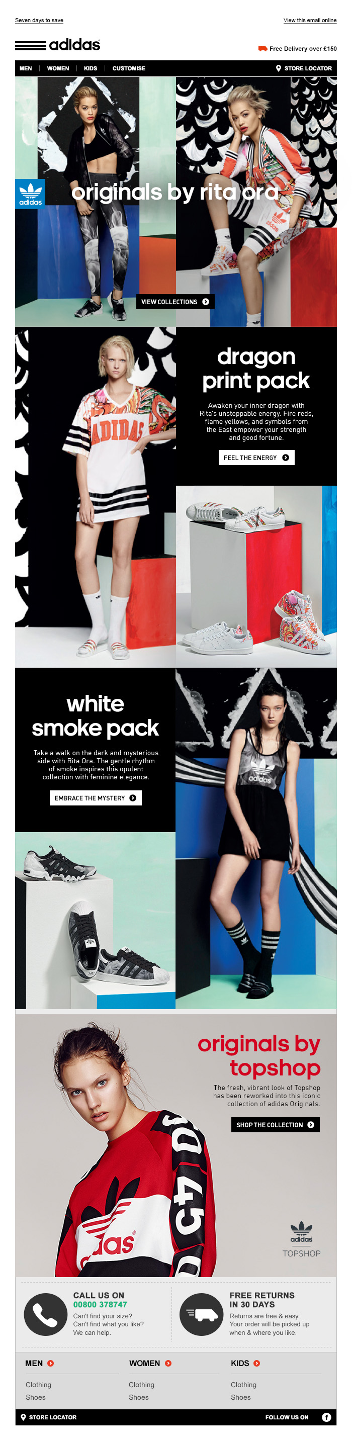 adidas Originals Rita Ora Dragon White Smoke - Tim Tayyar, freelance copywriter