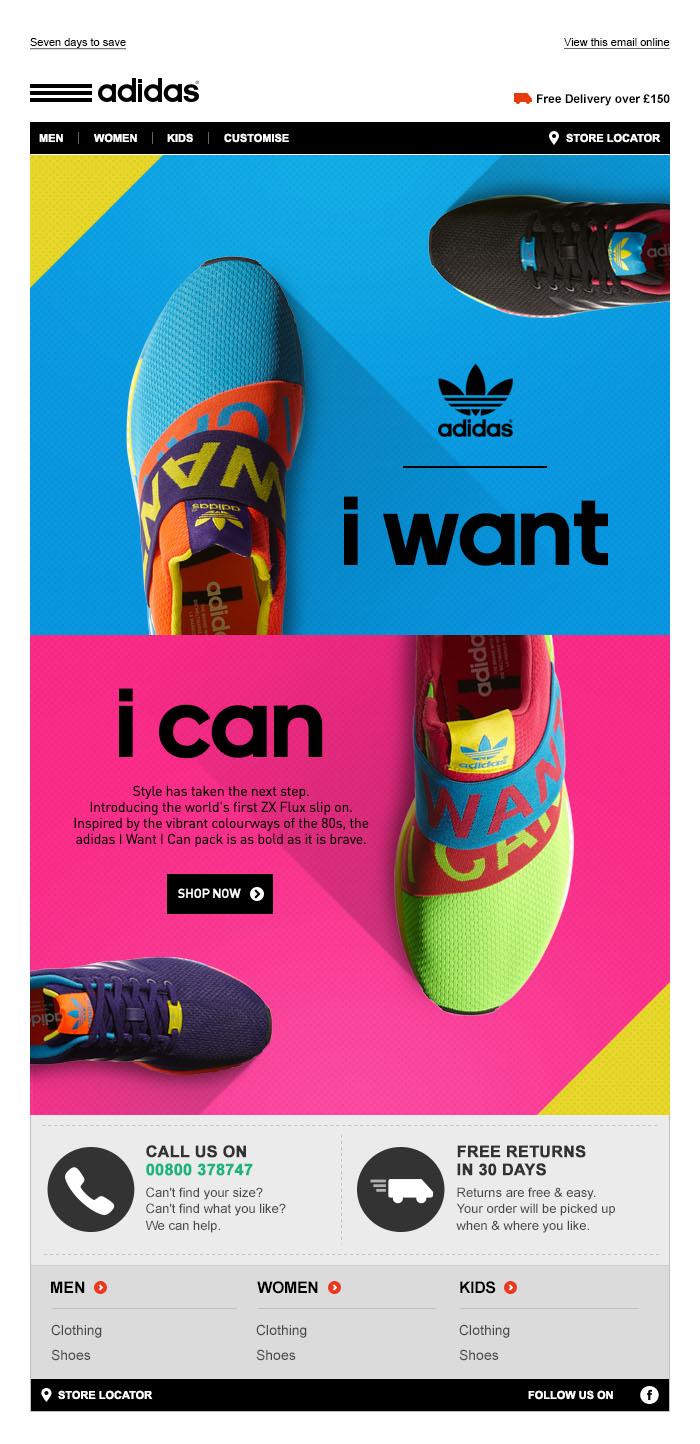 adidas Originals ZX Flux I Want I Can - Tim Tayyar, freelance copywriter