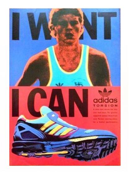 Original 1986 adidas ZX8000 Ad - Tim Tayyar, freelance copywriter